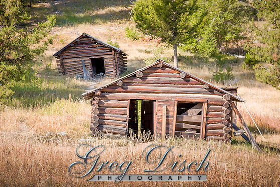 Garnet Ghost Town near Missoula Montana is one of Mantana's best preserved ghost towns. Garnet was a thriving gold mining town about a hundred years ago. Today there are approximately 30 buildings which look today much like they did in 1895. (Greg Disch gdisch@gregdisch.com)