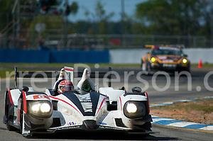#6 Muscle Milk Pickett Racing HPD ARX-03a HPD: Lucas Luhr, Klaus Graf, Simon Pagenaud (Darren Pierson)