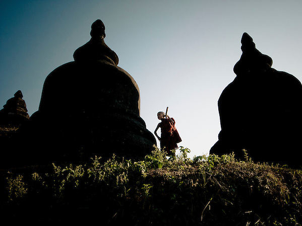 Mrauk U, Burma, 2008. (Matthew Oldfield)