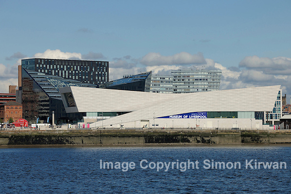 Mann Island & Museum of Liverpool, June 2012, from River Mersey - photo by Simon Kirwan