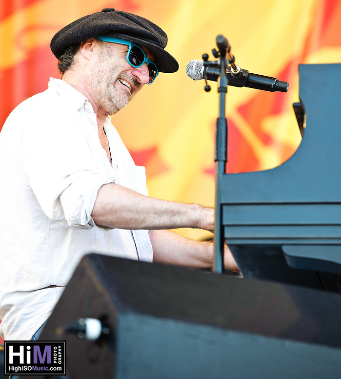 Jon Cleary playing at Jazz Fest 2011 in New Orleans on Day 1. (Golden G. Richard III)