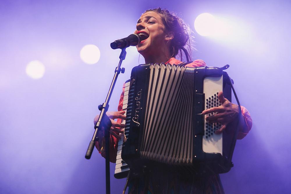 Photos of Molotov Jukebox performing live at Secret Solstice Music Festival 2014 in Reykjavík, Iceland. June 20, 2014. Copyright © 2014 Matthew Eisman. All Rights Reserved (Matthew Eisman/Photo by Matthew Eisman)