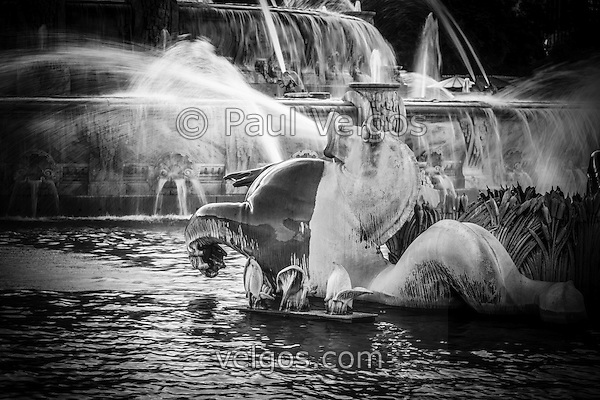 MG 8866 Chicago Buckingham Fountain Black And White New Chicago Black and White Photos Collection