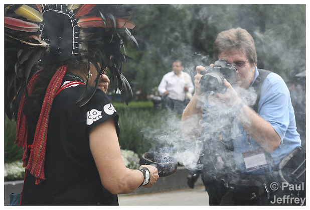 Paul shooting in Mexico City