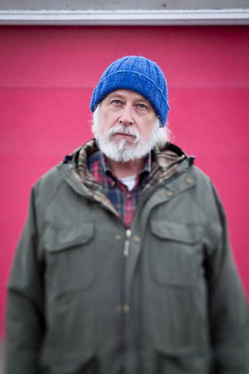 Brian Saylor, retired Director for the Institute of for Circumpolar Health Studies, University of Alaska (Clark James Mishler)