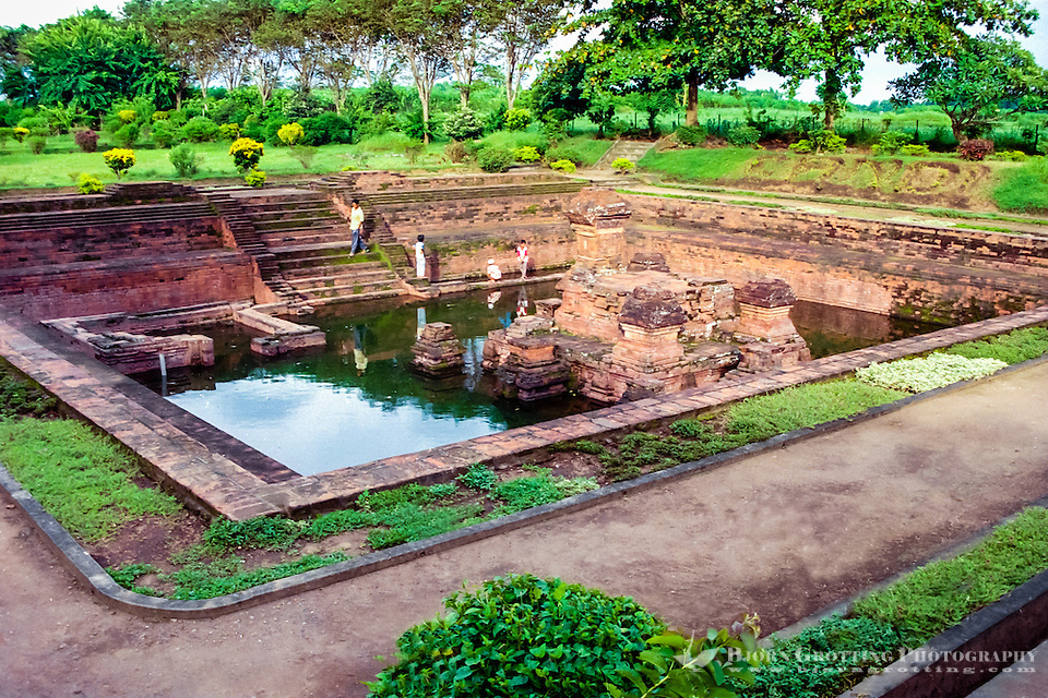 Java, East Java, Trowulan. Candi Tikus not far from Trowulan. (Photo Bjorn Grotting)