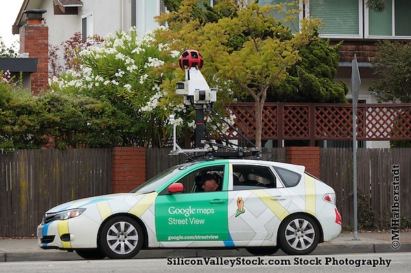 Google Street View Car (Michael Halberstadt)