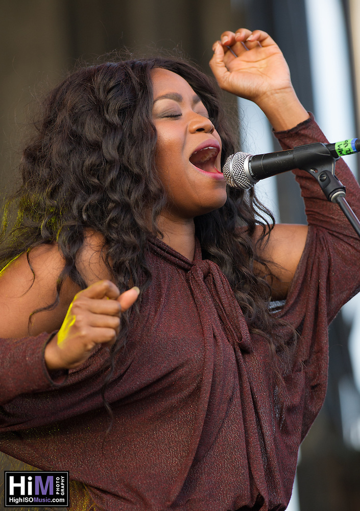 Ruby Amanfu at Voodoo Fest 2015. (HIGH ISO Music, LLC)