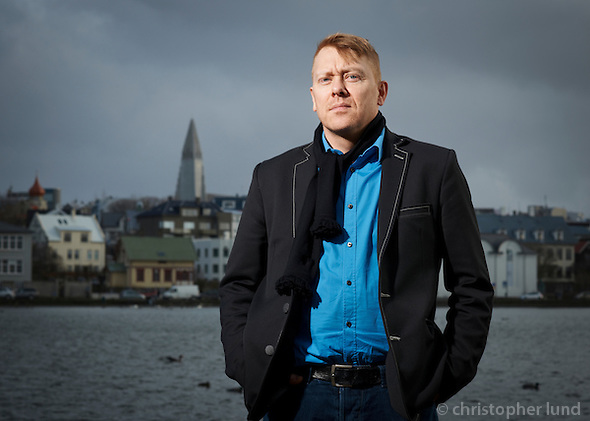 Jón Gnarr, Mayor of Reykjaví­k City. Also an Actor and Comedian. (Christopher Lund/©2011 Christopher Lund)