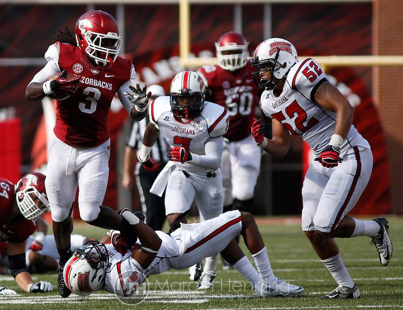 Photo by Marc F. Henning Arkansas vs. Louisiana-Lafayette on Aug. 31, 2013, at Reynolds Razorback Stadium in Fayetteville, Ark. (MARC F. HENNING/MARC F. HENNING PHOTOGRAPHY)