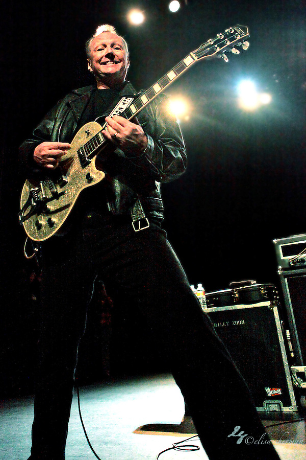 Billy Zoom of X performs on December 31, 2010  at the Moore Theatre in Seattle, WA (Elisa Sherman)