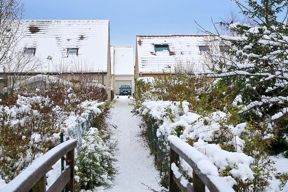 L'Ile de France sous la neige, decembre 2010 (francois renault)