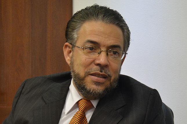 Guillermo Moreno, candidato de Alianza País