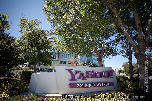 Yahoo! Headquarters, Sunnyvale, CA (Photographer: Michael Halberstadt, M Halberstadt/SiliconValleyStock.com)