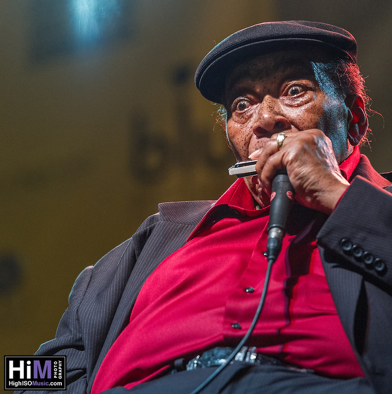 James Cotton performs at the 2013 Blues and BBQ Festival in New Orleans, LA. (HIGH ISO Music, LLC)