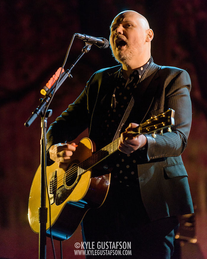 Billy Corgan of the Smashing Pumpkins performs at the Lincoln Theatre in Washington, D.C. (Photo by Kyle Gustafson) (Photo by Kyle Gustafson)