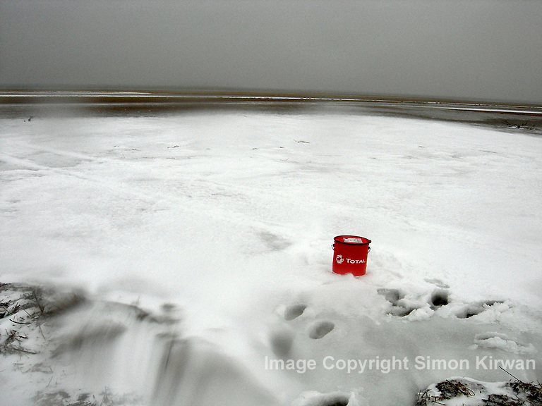 Total Whiteout - tribute to Edward Burtynsky's OIL project