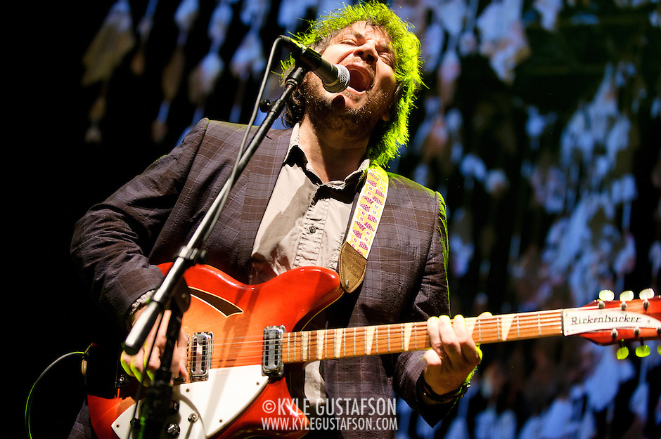 COLUMBIA, MD, -September 25th, 2011 - Jeff Tweedy of Wilco performs at Merriweather Post Pavilion. Wilco will release their eight studio album, The Whole Love, on Tuesday. (Photo by Kyle Gustafson/For The Washington Post). (Kyle Gustafson/FTWP)