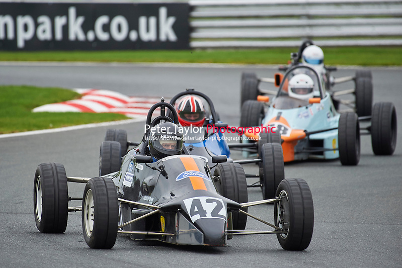 #42 Christopher Stones Van Diemen RF88 during Avon Tyres Formula Ford 1600 Northern Championship - Pre 90 Race 1 as part of the BRSCC Fun Cup Oulton Park 17th October 2015 at Oulton Park, Little Budworth, Cheshire, United Kingdom. October 17 2015. World Copyright Taylor/PSP. Copy of publication required for printed pictures.  Every used picture is fee-liable. http://archive.petertaylor-photographic.co.uk (Taylor/PSP)