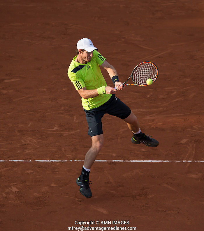 ANDY MURRAY (GBR) Tennis - French Open 2014 -  Toland Garros - Paris -  ATP-WTA - ITF - 2014  - France  31st  May 2014.  © AMN IMAGES (FREY/FREY- AMN Images)