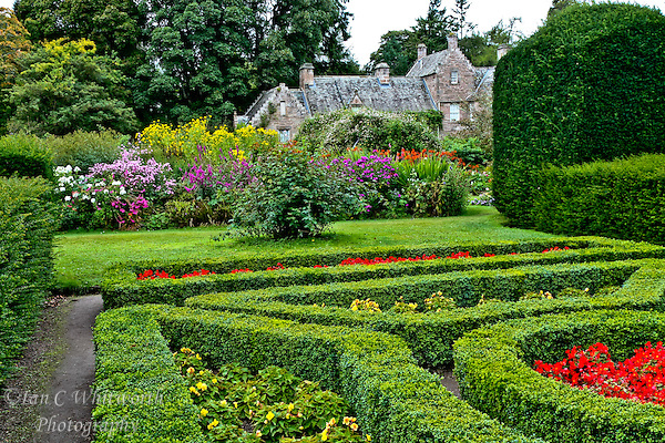 A view of the gardens at Cawdor Castle in Scotland (Ian C Whitworth)