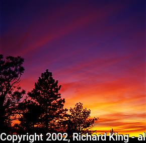 Sunset At Inspiration Point, Bryce Canyon National Park, Utah (Richard King)