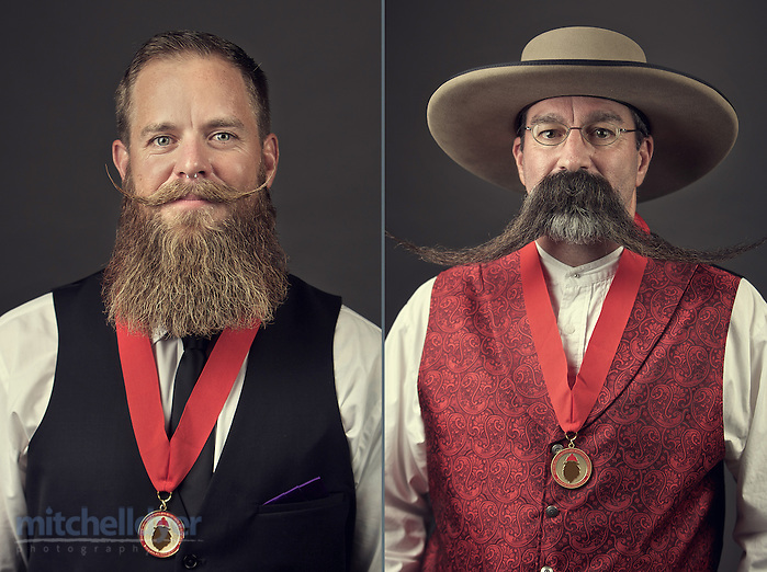 The Just For Men World Beard and Moustache Championships crowned 18 title winners, highlighting the best and boldest examples of facial hair from across the globe on Saturday, October 25th, 2014 in Portland, OR.  (Craig Mitchelldyer/AP Images for Just for Men) (Craig Mitchelldyer/AP Images for Just for Men)