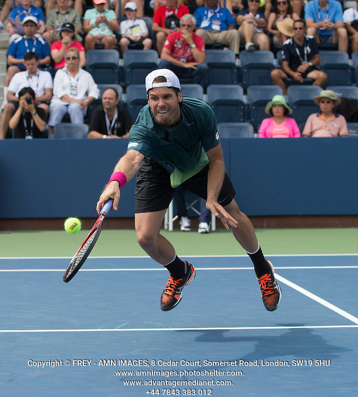 Tommy Haas Tennis - US Open  - Grand Slam -  Flushing Meadows  2013 -  New York - USA - United States of America - Thursday 30th August 2013.  © AMN Images, 8 Cedar Court, Somerset Road, London, SW19 5HU Tel - +44 7843383012 mfrey@advantagemedianet.com www.amnimages.photoshelter.com www.advantagemedianet.com www.tennishead.net (FREY - AMN IMAGES)