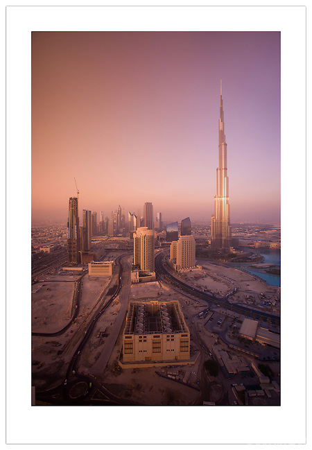 Burj Khalifa and the Dubai skyline, 2012  ( Ian Mylam)