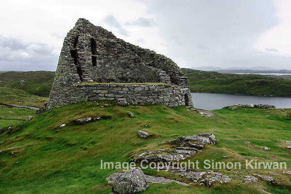 Dun Carloway Broch, Isle of Lewis, Outer Hebrides, Scotland - Photo By Simon Kirwan