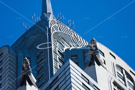 Chrysler Building skyscraper in New york City in October 2008 (Christopher Holt LTD - LondonUK, Christopher Holt LTD/Image by Christopher Holt - www.christopherholt.com)