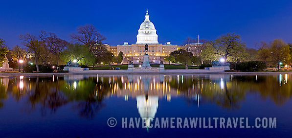 united states capitol building with reflection on water washington panorama 107202454 US Capitol Buildings Exterior