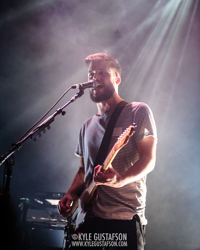 WASHINGTON, DC - February 22nd, 2014 - White Lies performs at the 9:30 Club in Washington, D.C. (Photo by Kyle Gustafson/www.kylegustafson.com) (Photo by Kyle Gustafson)