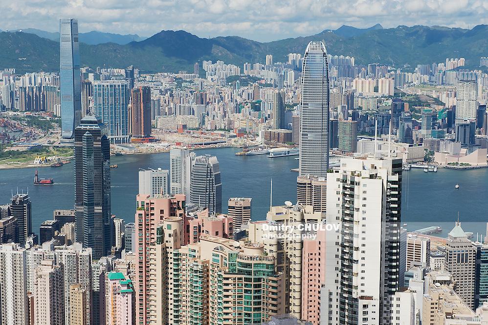 HONG KONG, CHINA - SEPTEMBER 12, 2012: Cityscape of the Hong Kong city in Hong Kong, China. (Dmitry Chulov)