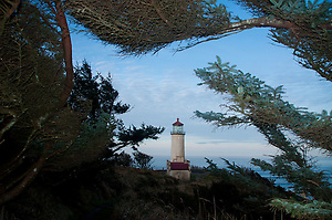 North Head Lighthouse at Cape Disappointment State Park, Ilwaco, Washington, US (Roddy Scheer)