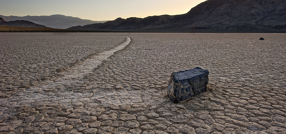 The Racetrack in Death Valley National Park (Doug Oglesby)