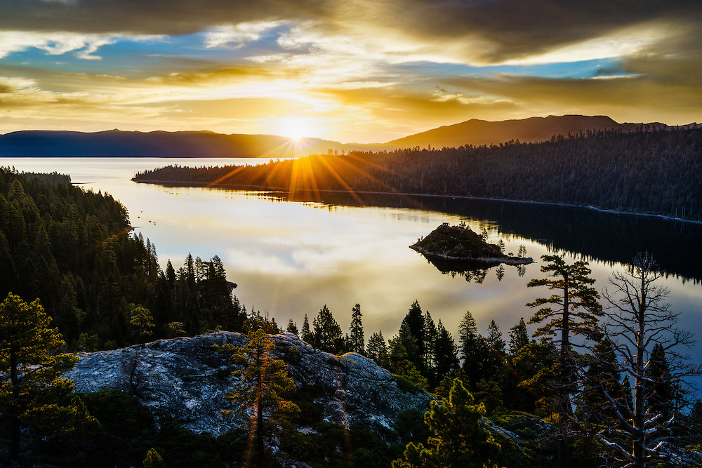 Emerald Bay on the California side of Lake Tahoe (Doug Oglesby)