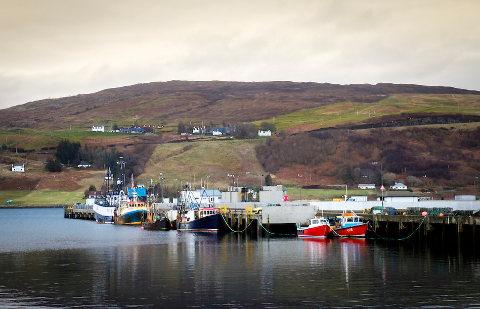 SCOTLAND - CIRCA APRIL 2016: Port of Uig in Skye, an Island in Scotland. (Daniel Korzeniewski)