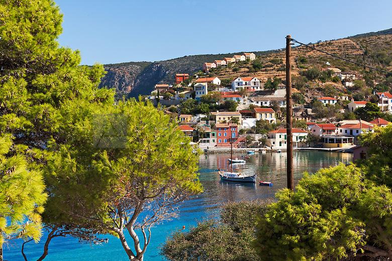 Professional landscape photograph of Assos Kefalonia