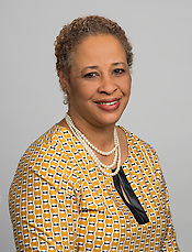 Gwendolyn Jonson poses for a photograph, May 5, 2014. (Houston ISD/Dave Einsel)