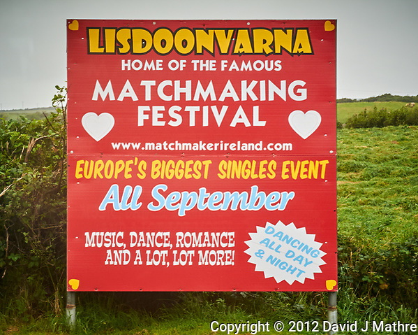 Lisdoonvarna -- Matchmaking Festival. Image taken with a Nikon 1 V1 camera and 30-110 mm lens. (David J Mathre)