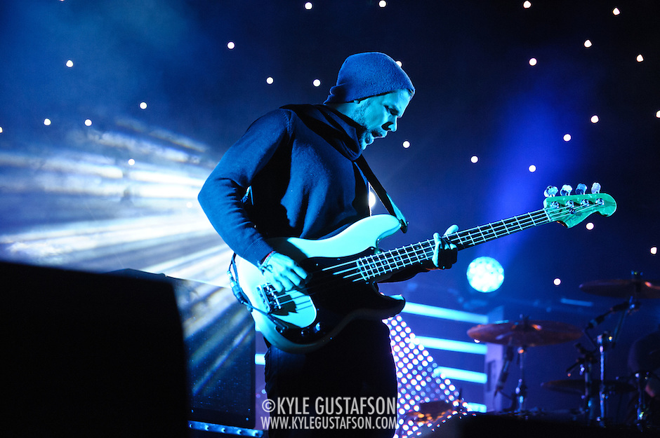 COLUMBIA, MD - October 6th, 2012 - Anthony Gonzalez of M83 performs at the 2012 Virgin Mobile FreeFest in Columbia, MD. (Photo by Kyle Gustafson / For The Washington Post) (Kyle Gustafson/For The Washington Post)