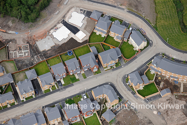 New Housing Development, Sutton Heath, St Helens - Aerial View by Simon Kirwan