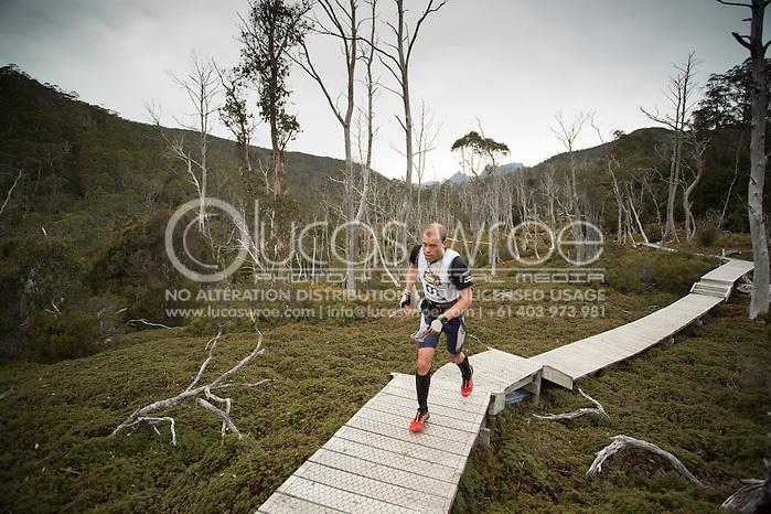 Team Swisse Active (Jarad Kohlar and James Pretto). Adventure Racing. Swisse Mark Webber Challenge 2013. Tasmania, Australia. 28/11/2013. Photo By Lucas Wroe (Lucas Wroe)