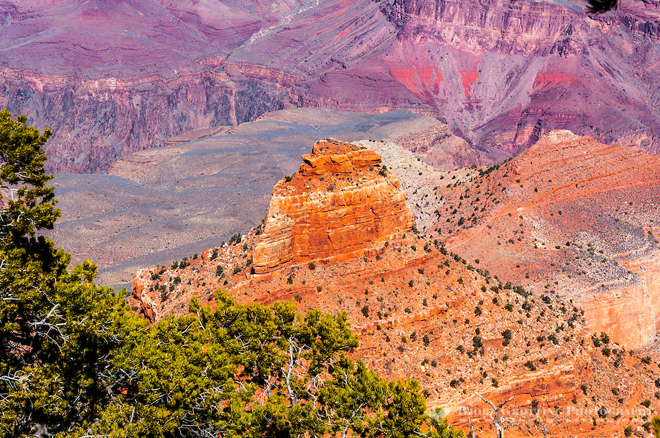 United States, Arizona, Grand Canyon. View from Yaki Point. (Photo Bjorn Grotting)