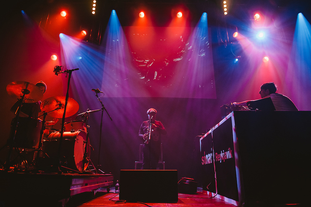 Photos of James Holden performing live during Sónar Reykjavík music festival at Harpa concert hall in Reykjavík, Iceland. February 15, 2014. Copyright © 2014 Matthew Eisman. All Rights Reserved (Matthew Eisman/Photo by Matthew Eisman)