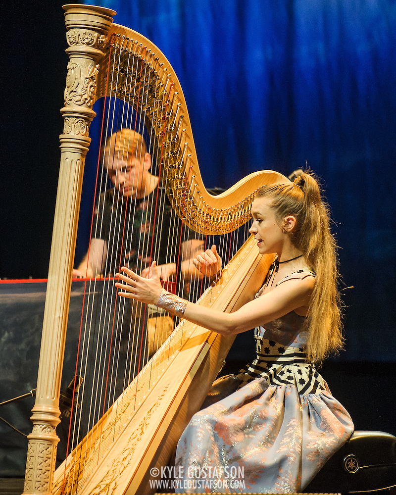 WASHINGTON, DC - December 10th, 2015 - Joanna Newsom performs at the Lincoln Theatre in Washington, D.C. In October she released her fourth studio album, Divers, to great critical acclaim.  (Photo By Kyle Gustafson / For The Washington Post) (Kyle Gustafson/For The Washington Post)