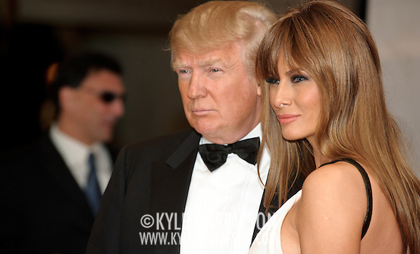 Donald Trump, Melania Trump (Kyle Gustafson/Photo by Kyle Gustafson)