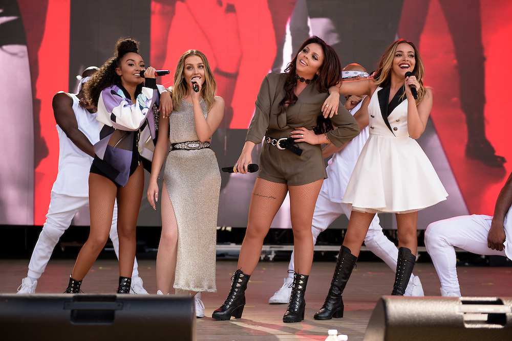 Photos of Little Mix performing live for Billboard Hot 100 Music Festival at Nikon at Jones Beach Theatre in Wantagh, NY. August 22, 2015. Copyright © 2015. Matthew Eisman. All Rights Reserved (Matthew Eisman/Photo by Matthew Eisman)