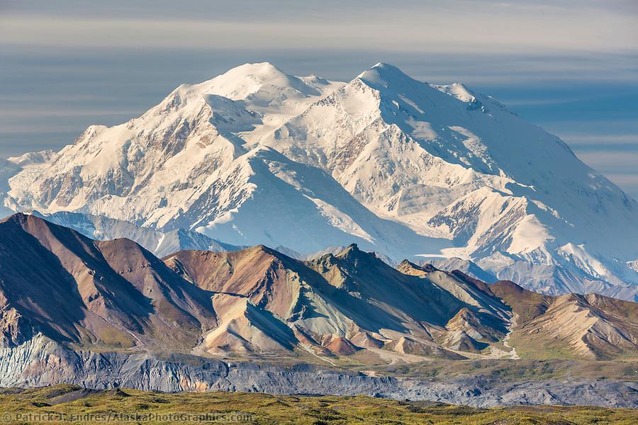 Summit of Denali, Denali National Park, Alaska. (Patrick J. Endres / AlaskaPhotoGraphics.com)